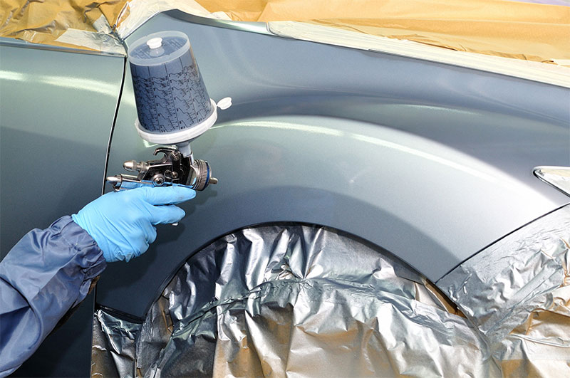 TEQ-SPRAY Benefits paint savings